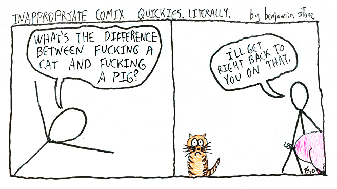 Inappropriate Comix Quickies - What's the difference