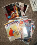 Daredevil Man Without Fear and All Star Superman - I'm bartering these for a bowling ball