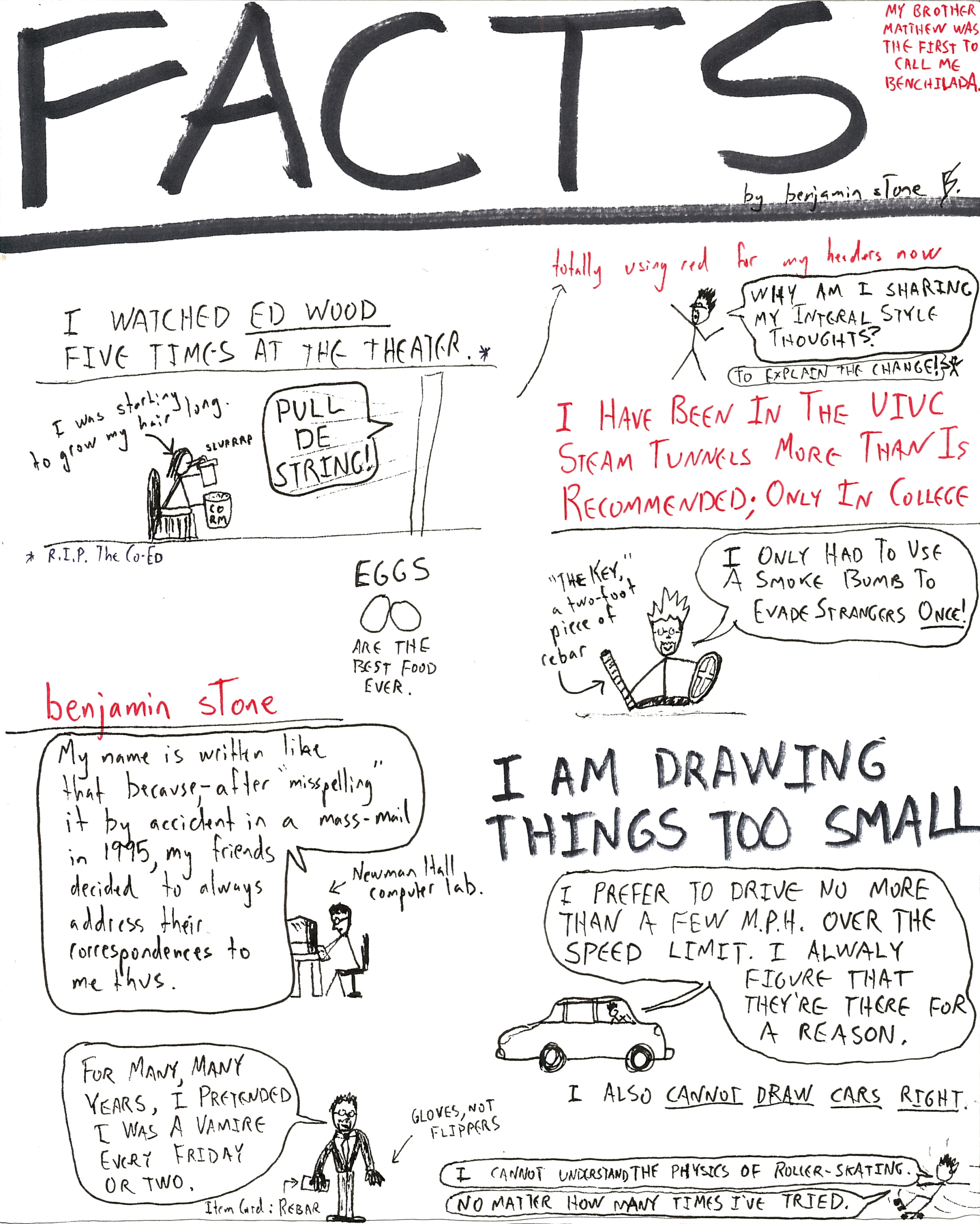 Facts art - last page benchilada
